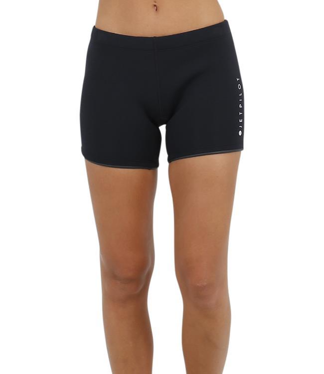 "Jetpilot Allure 5"" Womens Neo Shorts (2019) - Black side"