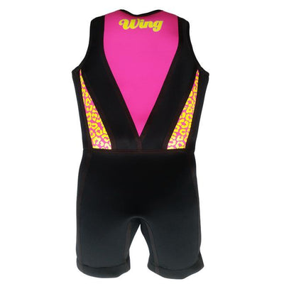 Wing Freestyle Girls Buoyancy Suit back