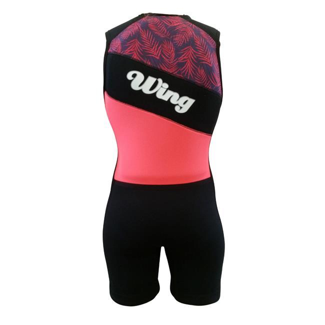 Wing Ariel Womens Buoyancy Suit (2018) - Peach Front