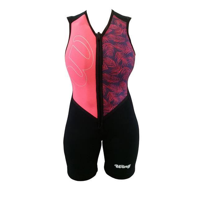 Wing Ariel Womens Barefoot Suit (2018) - Peach Side 1