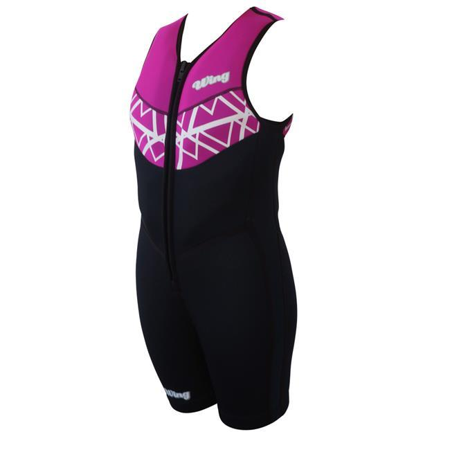 Wing Divine Womens Buoyancy Suit (2018) - Pink Front