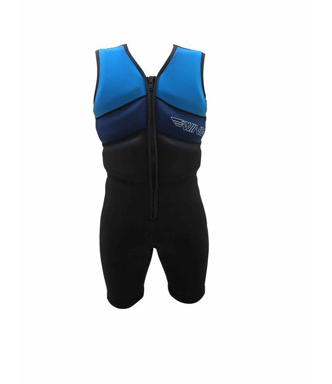Wing Super Comp Suit Buoyancy Suit (2019) - Blue Side