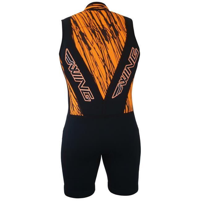Wing Pro Mens Barefoot Suit (2018) - Orange Front