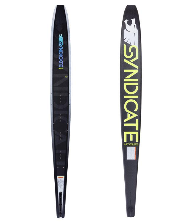 HO Syndicate Omega Slalom Ski with Hardshell Boot & RTP (2020)