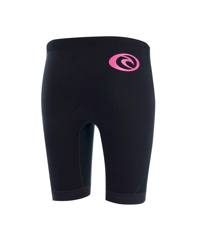 Ripcurl Dawn Patrol Girls Wetsuit Shorts (2018) - Black MAIN