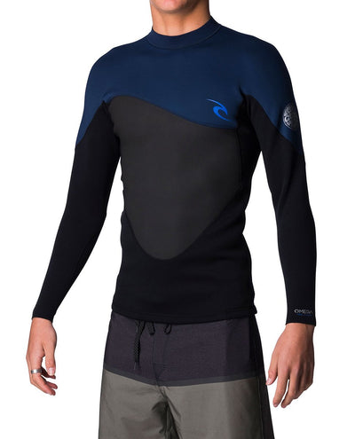 Ripcurl Omega Mens Heater Top (2019) - Navy MAIN
