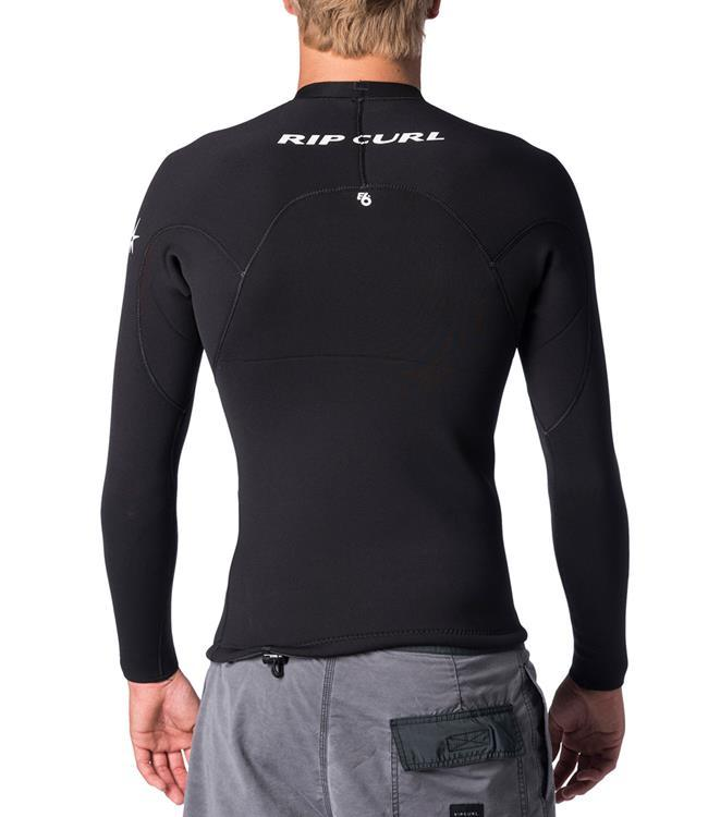Ripcurl E-Bomb Mens 1.5mm Heater Top (2019) - Black