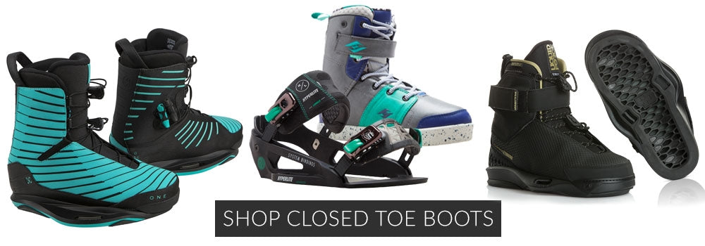 SHOP Closed Toe Wakeboard Boots