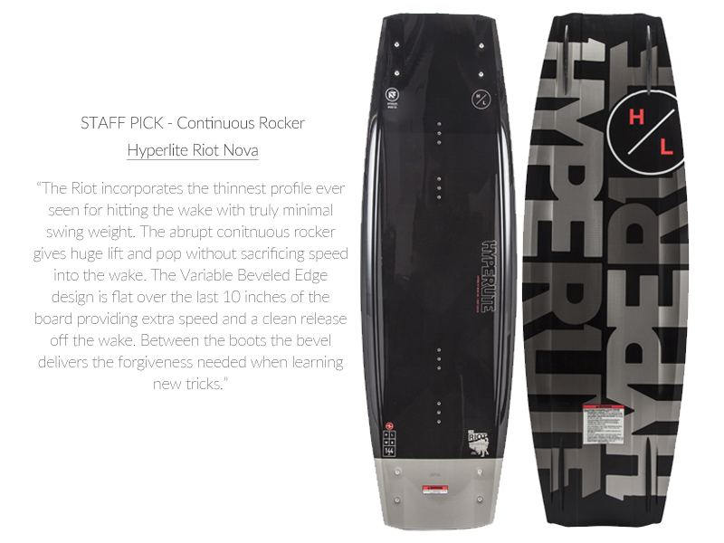 <STAFF PICK: Continuous Rocker Wakeboard>