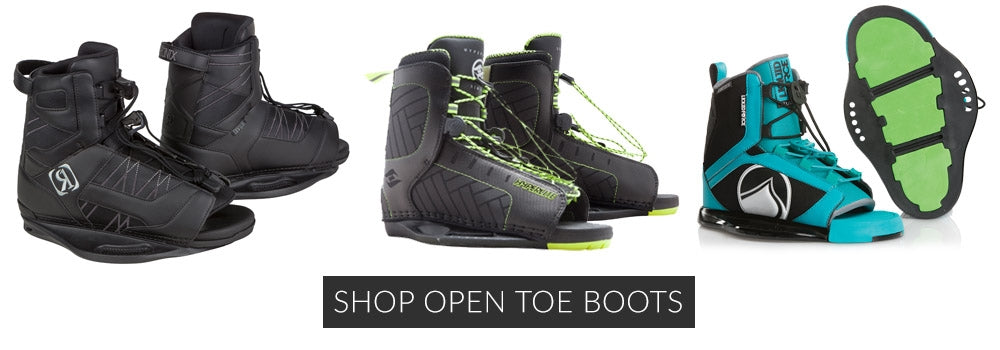 SHOP Open Toe Wakeboard Boots