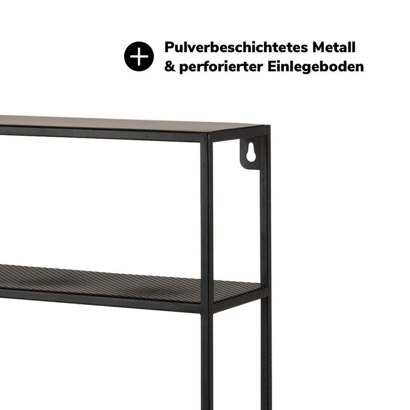 Wandboard 'Die Variable' aus Metall Wandregal oder Küchenregal #sku_WR2_12234