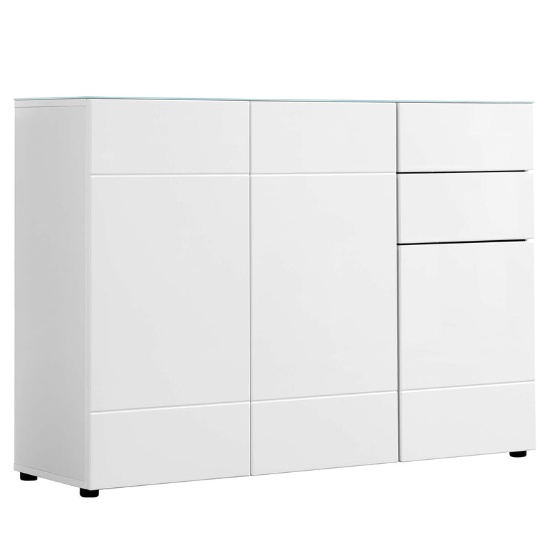 mokebo® 'Die Elegante' Kommode Sideboard Highboard Made in Germany #sku_KD1.1mdf_w