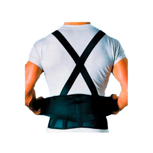 Back Support Belt with Suspenders