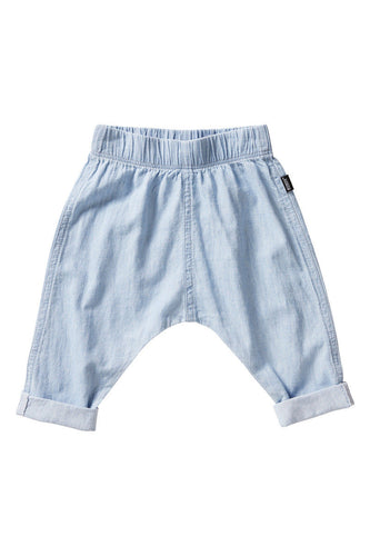 Bonds Chambray baby jeans funky light denim - Cuddle Factory