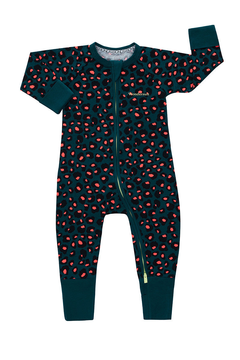 Bonds Wondersuit zippy | Jungle leopard onesie