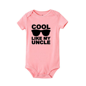 Cool Like My Uncle | Short sleeve playsuit