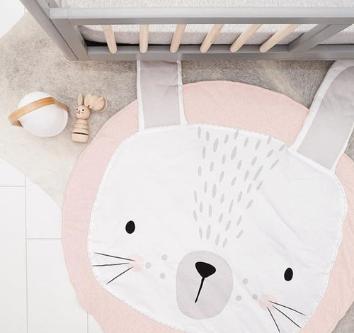 Rabbit Design | Baby Playmat - Cuddle Factory