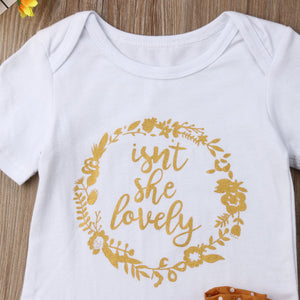 Isn't she lovely | 3 piece outfit - Cuddle Factory