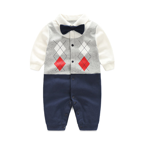 Baby boys outfit | Gentleman's outfit with bow tie