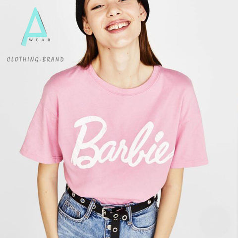 Baby Pink Half Sleeves Customize T-shirt