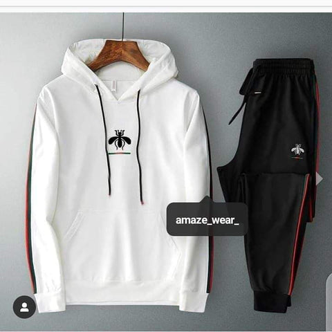 White Gucci Tracksuit