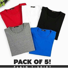 Pack of 5 Full Sleeves T-shirts