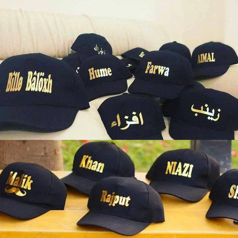 Customize Name Cap