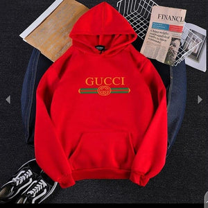Red Gucci Hood