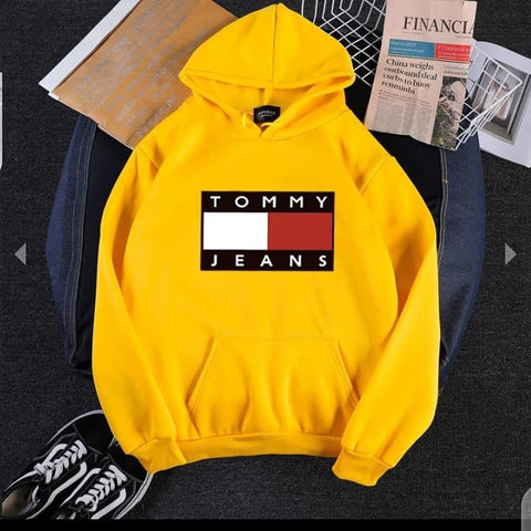Yellow Tommy Jeans Hood