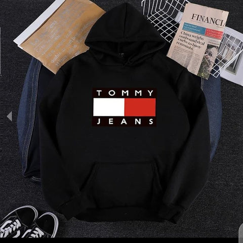 Black Tommy Jeans Hood