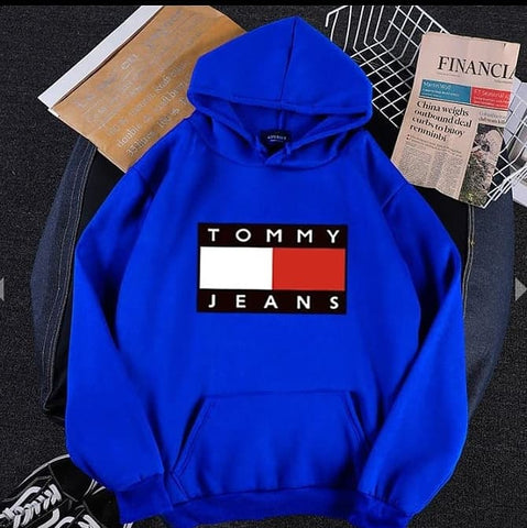 Blue Tommy Jeans Hood