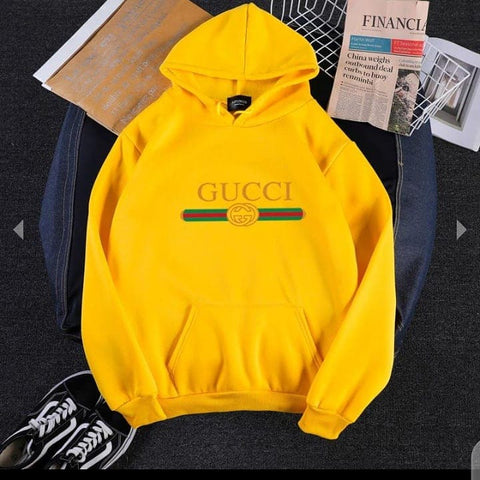 Yellow Gucci Hood