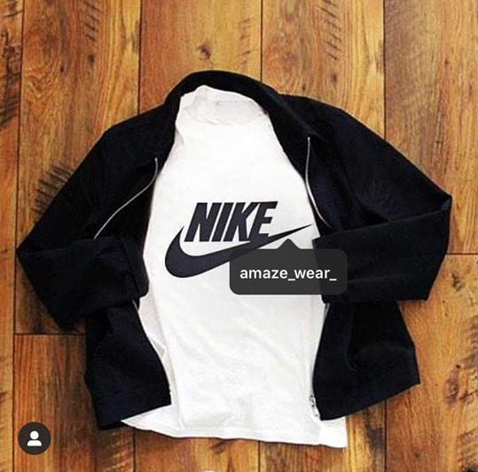 Black Fleece Jacket And T-shirt