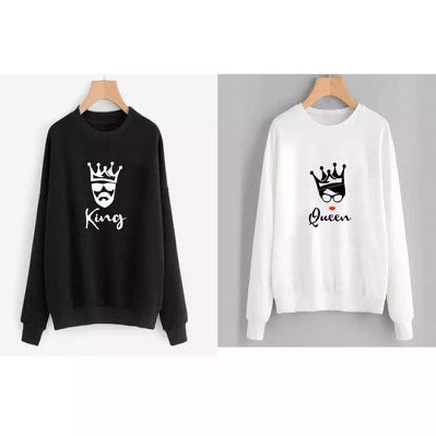Pack Of 2 Couples Printed Sweatshirts