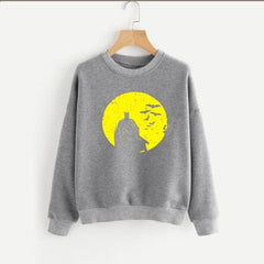 Grey Batman Printed Sweatshirt