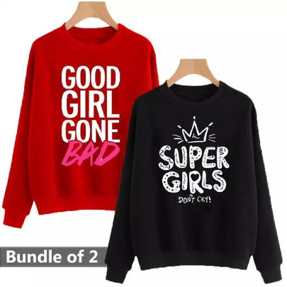 Pack of Two Sweatshirts