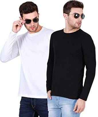 Pack of 2 Full Sleeves T-shirts