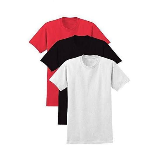 Pack of 3 Half Sleeves T-shirts