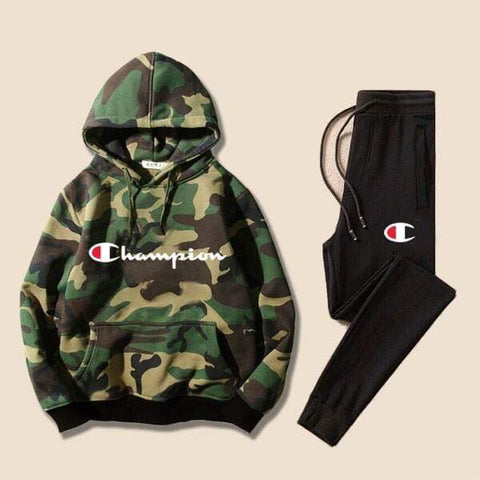 Military Champion Printed Tracksuit
