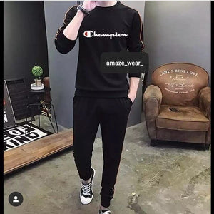 Black Champion Tracksuit