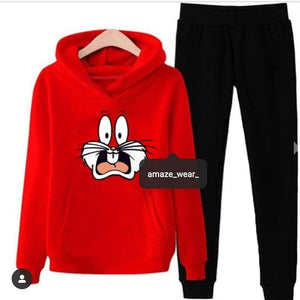 Bugs Bunny Printed Tracksuit