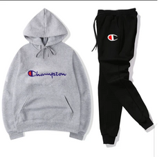 Black and Grey Champion Tracksuit