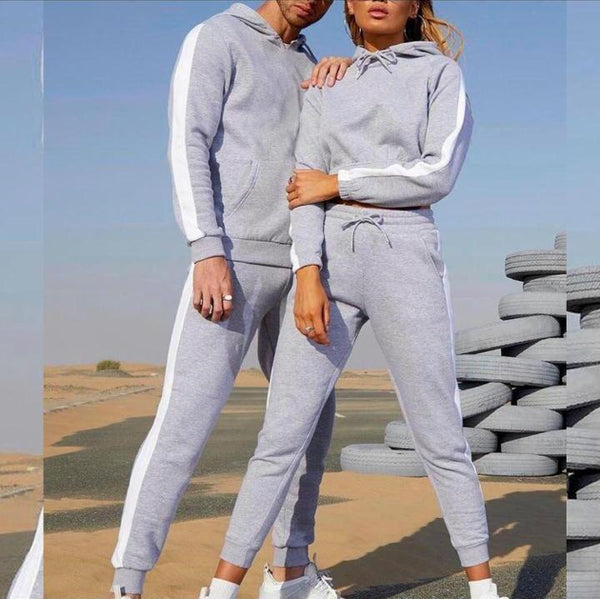 Winter Side Striped Tracksuit