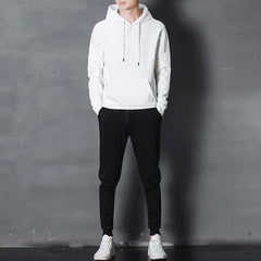 White Plain Winter Tracksuit