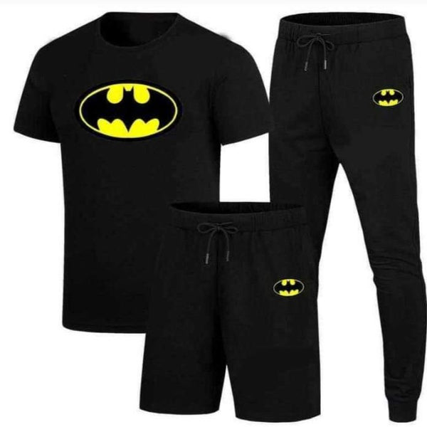 Batman Printed Summer Tracksuit Set