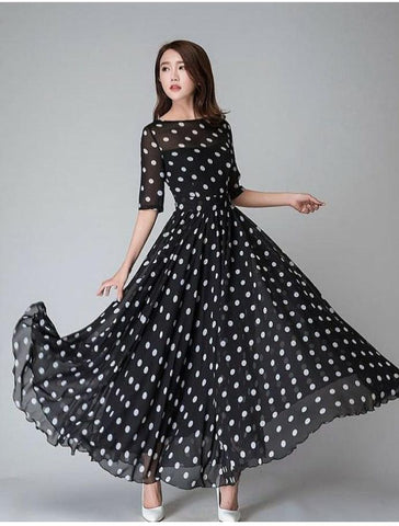 Polka Long Length Maxi