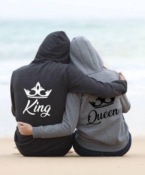 Pack Of Two Couple Hoodies