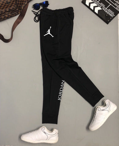 Black (Jordan) Printed Trouser