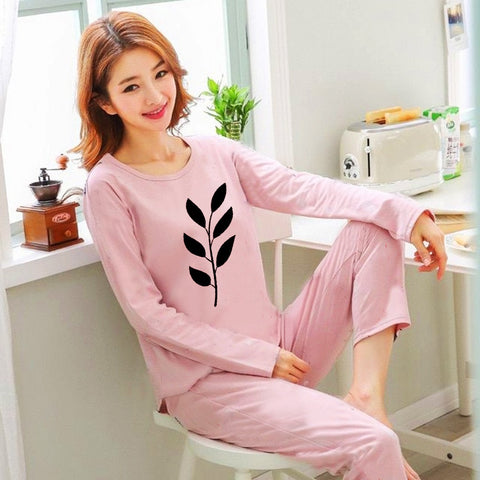 Women's Baby Pink Night Wear