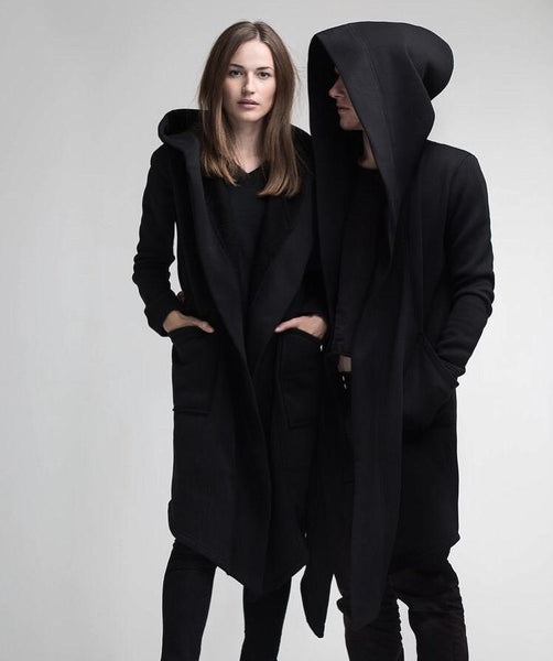 Black Fleece Long Coat
